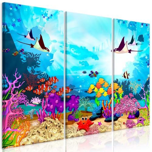 Quadro - Underwater Fun (3 Parts) - Quadri e decorazioni