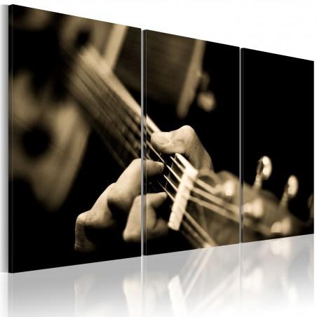 Quadro - Suono magico della gitarra - Quadri e decorazioni