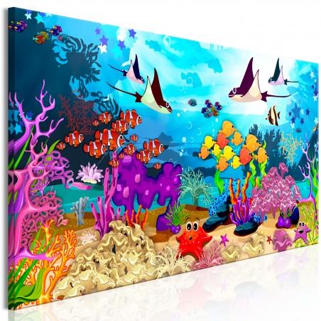 Quadro - Underwater Fun (1 Part) Narrow - Quadri e decorazioni