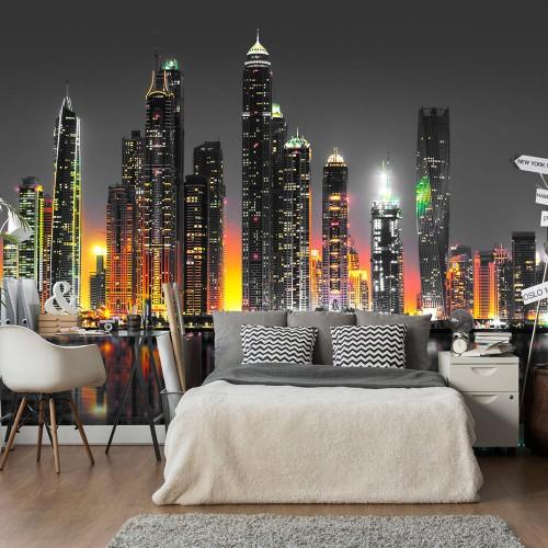 Fotomurale - Desert City (Dubai) - Quadri e decorazioni
