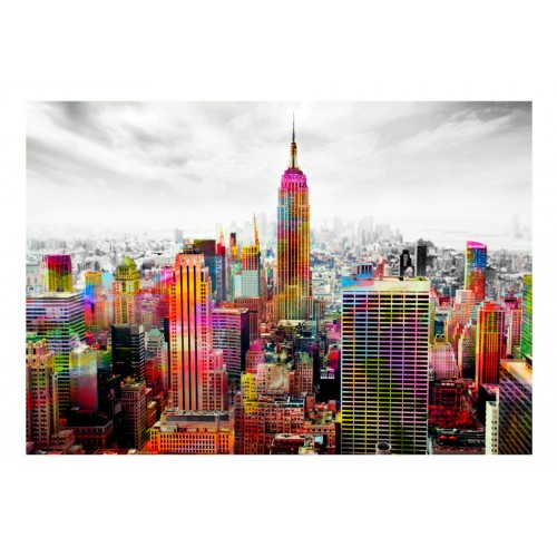 Fotomurale - Colors of New York City II - Quadri e decorazioni