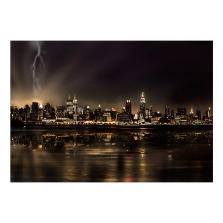Fotomurale - Tempesta a New York - Quadri e decorazioni