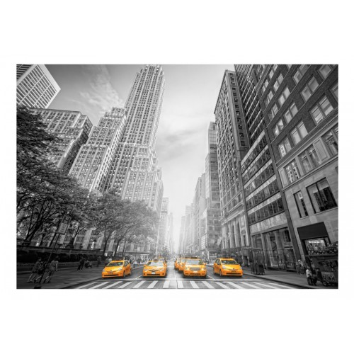 Fotomurale - New York - yellow taxis - Quadri e decorazioni