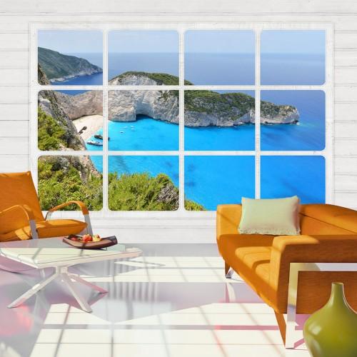 Fotomurale - Window on the world - Quadri e decorazioni