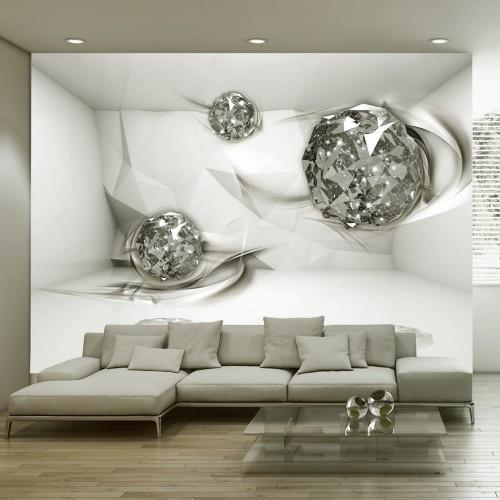 Fotomurale - White topazes - Quadri e decorazioni