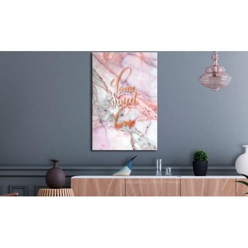 Quadro - Home Sweet Home (1 Part) Vertical - Quadri e decorazioni