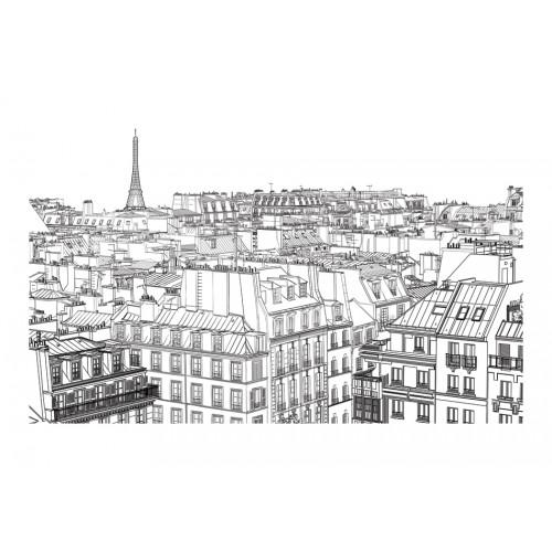 Fotomurale - Da uno sketchbook parigino - Quadri e decorazioni