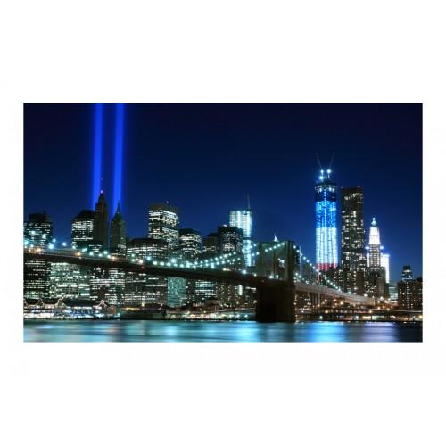 Fotomurale - Floodlights over NYC - Quadri e decorazioni