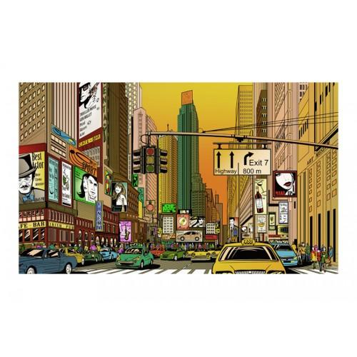Fotomurale - New York: città piena di vita - Quadri e decorazioni