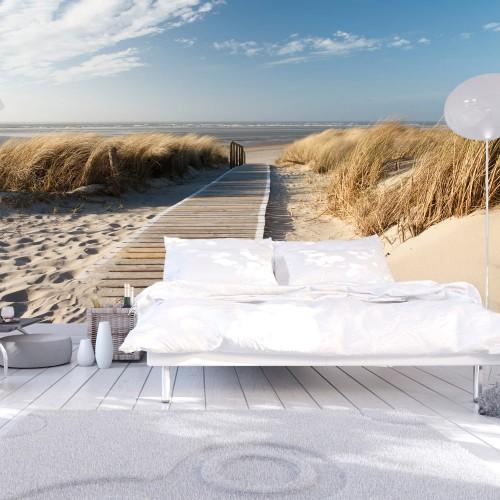 Fotomurale - Spiaggia del Mare del Nord, Langeoog - Quadri e decorazioni