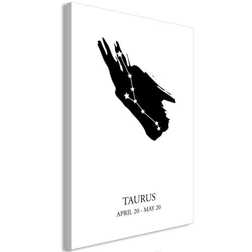 Quadro - Zodiac Signs: Taurus (1 Part) Vertical - Quadri e decorazioni