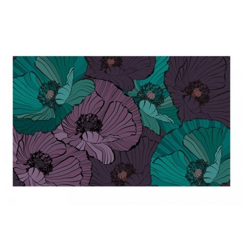 Fotomurale - Aiuola fiorita - Quadri e decorazioni