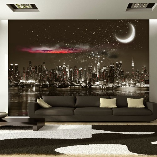 Fotomurale - Starry Night Over NY - Quadri e decorazioni