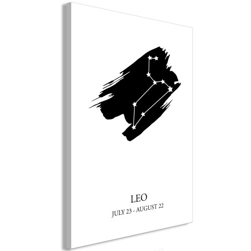 Quadro - Zodiac Signs: Leo (1 Part) Vertical - Quadri e decorazioni
