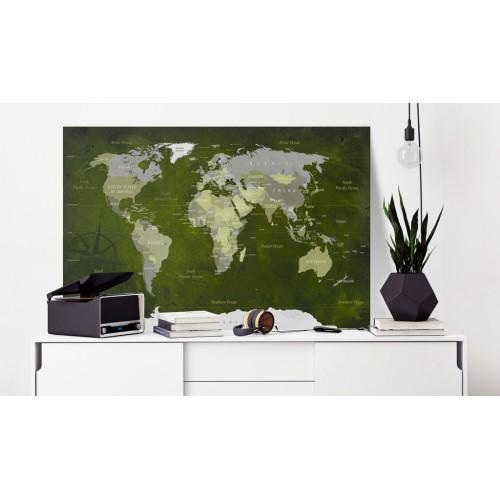Quadri di sughero - Malachite World [Cork Map] - Quadri e decorazioni