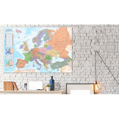 Quadri di sughero - World Maps: Europe [Cork Map] - Quadri e decorazioni