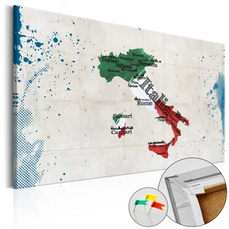 Quadri di sughero - Italy [Cork Map] - Quadri e decorazioni