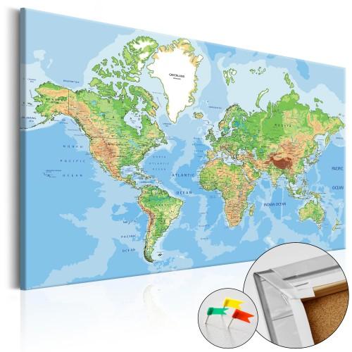 Quadri di sughero - World Geography [Cork Map] - Quadri e decorazioni