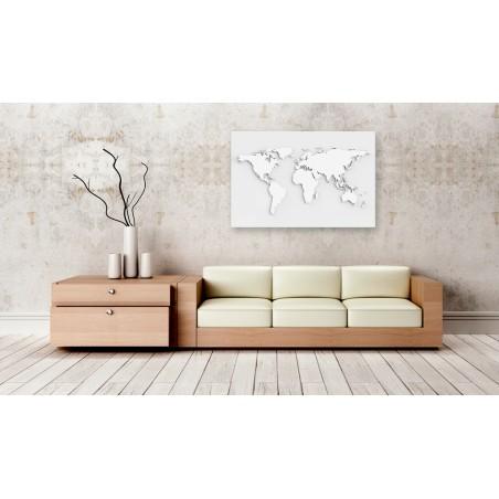 Quadri di sughero - Monochromatic World [Cork Map] - Quadri e decorazioni