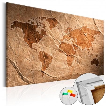 Quadri di sughero - Paper Map [Cork Map] - Quadri e decorazioni