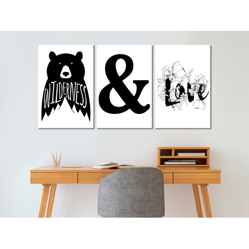 Quadro - Willderness and Love (Collection) - Quadri e decorazioni