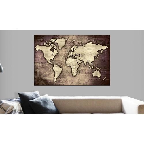 Quadri di sughero - Precious World [Cork Map] - Quadri e decorazioni