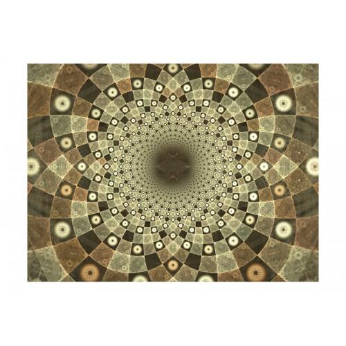 Fotomurale - Brown mosaic - Quadri e decorazioni