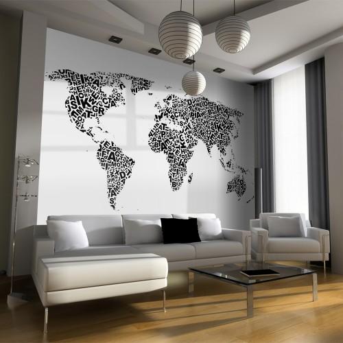 Fotomurale - Mappa dei pensieri - Quadri e decorazioni