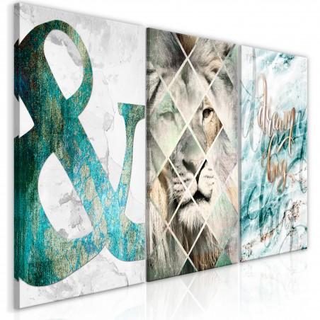 Quadro - Lion Dreams (3 Part) - Quadri e decorazioni