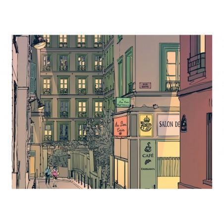 Fotomurale - Colazione a Parigi - Quadri e decorazioni