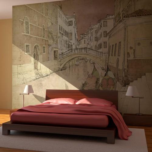 Fotomurale - Gondolas in Venice - Quadri e decorazioni