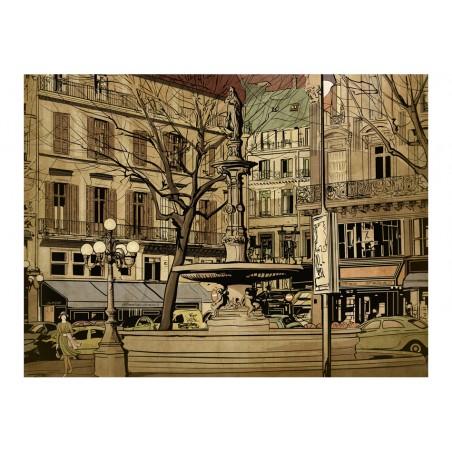 Fotomurale - Parisian fountain - Quadri e decorazioni
