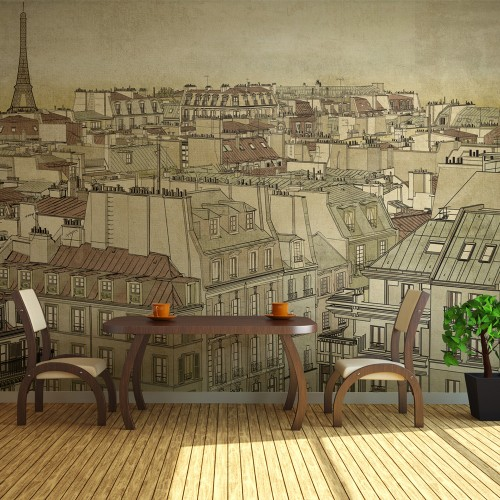 Fotomurale - Arrivederci Parigi! - Quadri e decorazioni