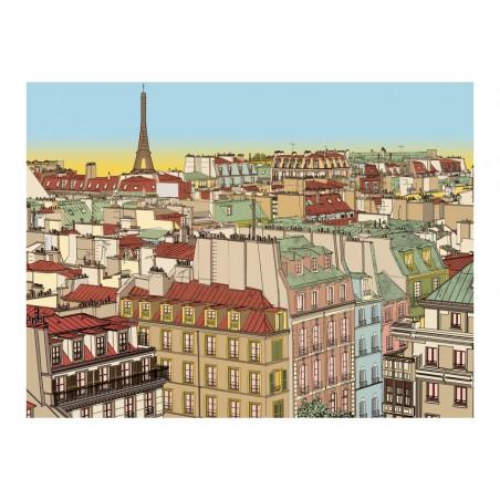 Fotomurale - Buongiorno Parigi! - Quadri e decorazioni