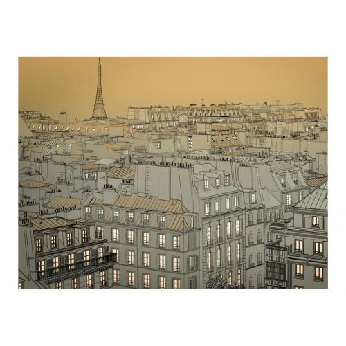Fotomurale - Buona notte Parigi! - Quadri e decorazioni