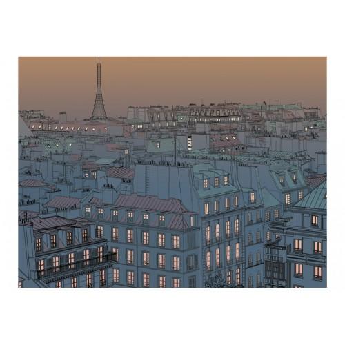 Fotomurale - Buona sera Parigi! - Quadri e decorazioni