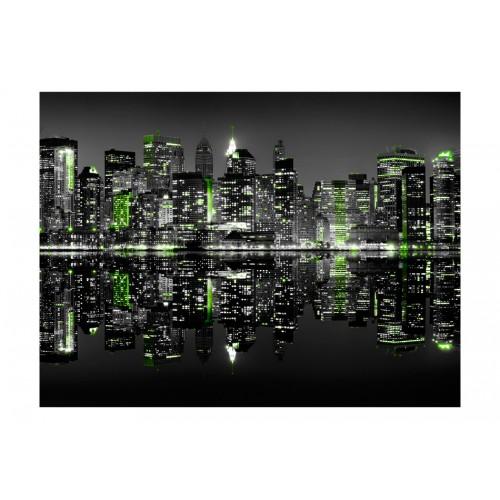 Fotomurale - New York immersa nel sonno - Quadri e decorazioni