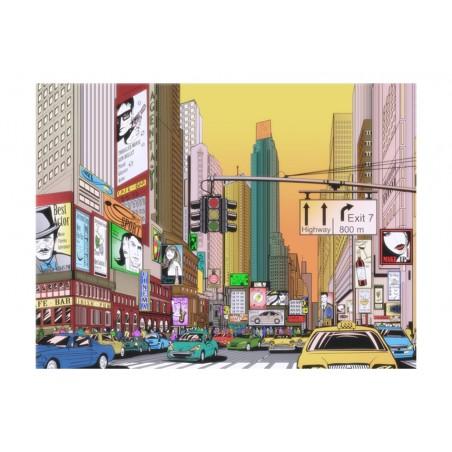 Fotomurale - Ora di punta nel centro di New York - Quadri e decorazioni