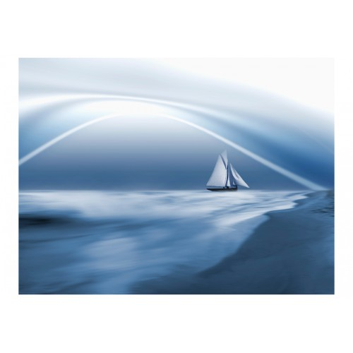 Fotomurale - Lonely sail drifting - Quadri e decorazioni