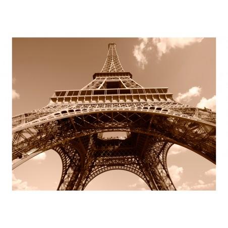 Fotomurale - Torre Eiffel in seppia - Quadri e decorazioni