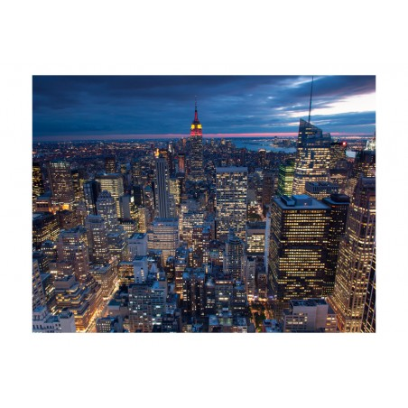 Fotomurale - New York - notte - Quadri e decorazioni