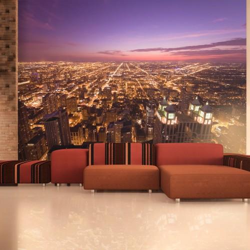 Fotomurale - Chicago by night - Quadri e decorazioni