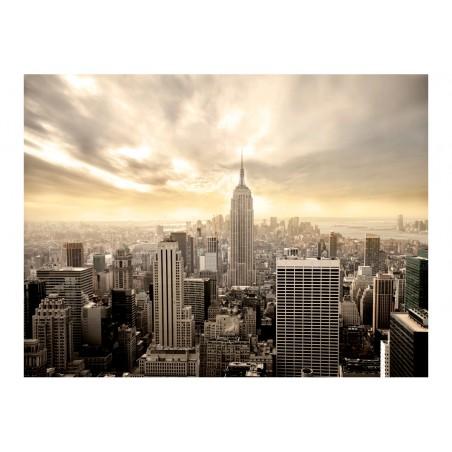 Fotomurale - New York: Manhattan all'alba - Quadri e decorazioni