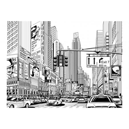 Fotomurale - Sulle strade di New York - Quadri e decorazioni
