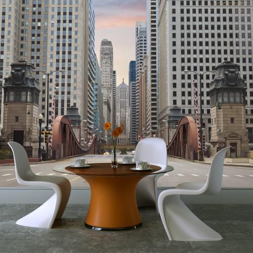 Fotomurale - Chicago street - Quadri e decorazioni