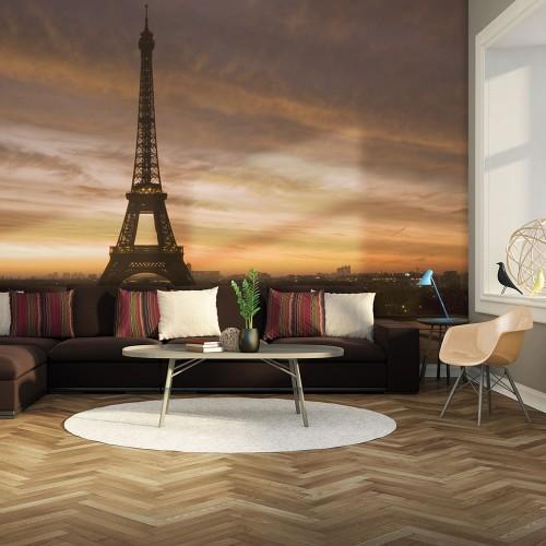 Fotomurale - Torre Eiffel all'alba - Quadri e decorazioni