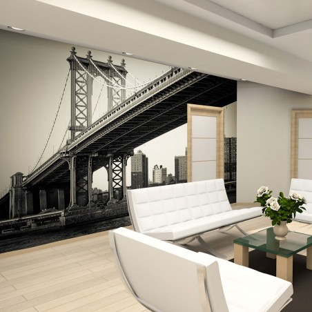 Fotomurale - Ponte di Manhattan, New York - Quadri e decorazioni