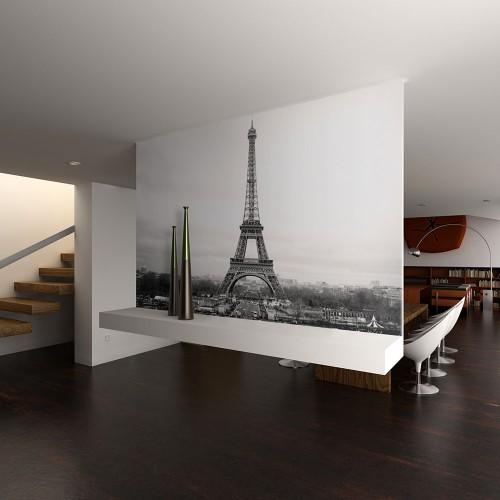 Fotomurale - Parigi: foto in bianco e nero - Quadri e decorazioni