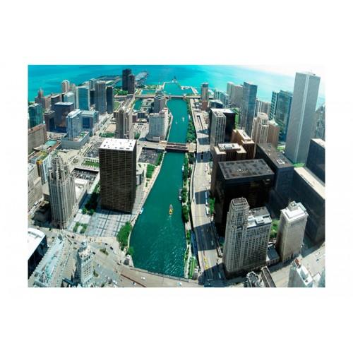 Fotomurale - Architettura a Chicago - Quadri e decorazioni