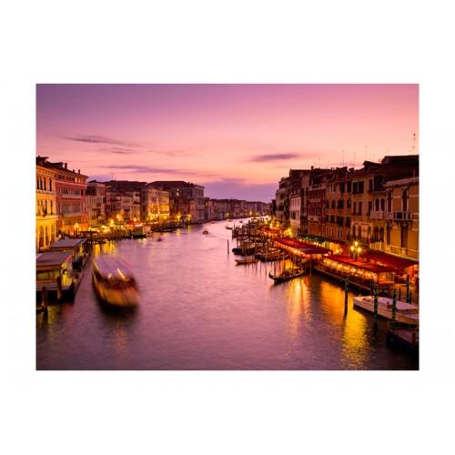 Fotomurale - Città degli innamorati: Venezia di notte - Quadri e decorazioni